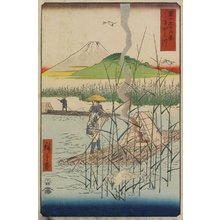 Utagawa Hiroshige: Sagami River - Minneapolis Institute of Arts