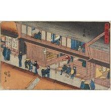 歌川広重: No.37 Akasaka - ミネアポリス美術館
