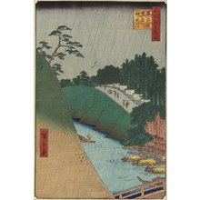 Utagawa Hiroshige: The Temple of Confucius Near The Shohei Bridge Over The Kanda River - Minneapolis Institute of Arts