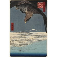 Utagawa Hiroshige: Jumantsubo at Susaki, Fukagawa - Minneapolis Institute of Arts