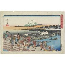 歌川広重: Nihon-bashi Bridge - ミネアポリス美術館