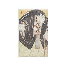 弦屋光渓: Nakamura Kichiemon ll as Benkei in the play