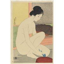 Hashiguchi Goyo: Woman at the Bath - Minneapolis Institute of Arts