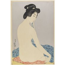 Hashiguchi Goyo: Woman after Bath - Minneapolis Institute of Arts