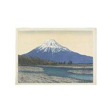 川瀬巴水: Fuji River - ミネアポリス美術館