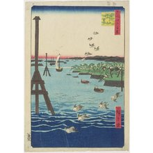 Utagawa Hiroshige: View of Shiba Coast - Minneapolis Institute of Arts