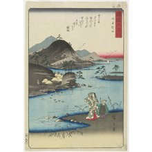 歌川広重: Noda in Mutsu Province - ミネアポリス美術館