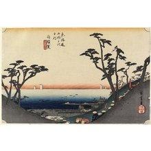 歌川広重: View of Shiomi Slope, Shirasuga - ミネアポリス美術館