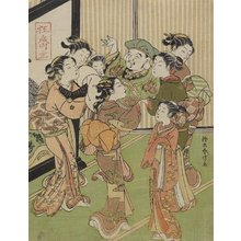 Suzuki Harunobu: Seven Women Carrying Daikoku God - Minneapolis Institute of Arts