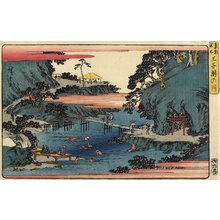 Utagawa Hiroshige: Takinogawa River, Oji - Minneapolis Institute of Arts