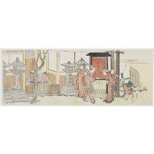 Katsushika Hokusai: Visiting Oji Inari Shrine - Minneapolis Institute of Arts