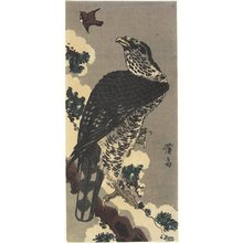 Keisai Eisen: Eagle and Sparrow - Minneapolis Institute of Arts