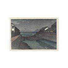川瀬巴水: Horikawa River, Obama - ミネアポリス美術館