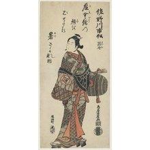 鳥居清廣: Sanogawa Ichimatsu - ミネアポリス美術館