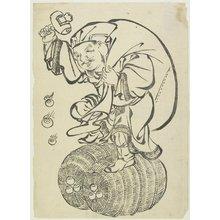 Unknown: Daikoku God on Rice Bales - Minneapolis Institute of Arts