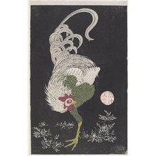 伊藤若冲: (Rooster) - ミネアポリス美術館
