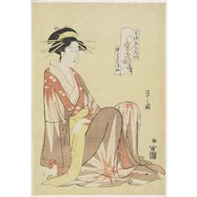 Hosoda Eishi: Shizuka of Shizutamaya House - Minneapolis Institute of Arts