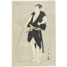 勝川春英: The Actor Ichikawa Danjuro Vl - ミネアポリス美術館