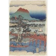 Utagawa Sadahide: Eight Views of Lake Biwa - Minneapolis Institute of Arts