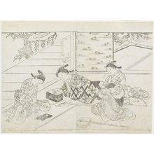 Hanabusa Shigenobu: (Three Courtesans in a Room) - Minneapolis Institute of Arts