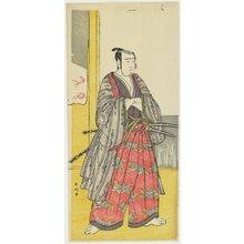 勝川春好: Sawamura Sojuro III as Yazama Jutaro - ミネアポリス美術館