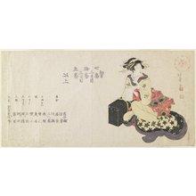 昇亭北壽: Name List of the Musicians - ミネアポリス美術館