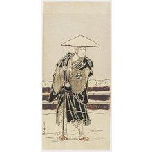 勝川春章: Bando Mitsugoro as Tokiyori - ミネアポリス美術館