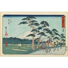 歌川広重: No.15 Yoshiwara - ミネアポリス美術館