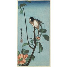 Utagawa Hiroshige: (Titmouse on Camelia) - Minneapolis Institute of Arts