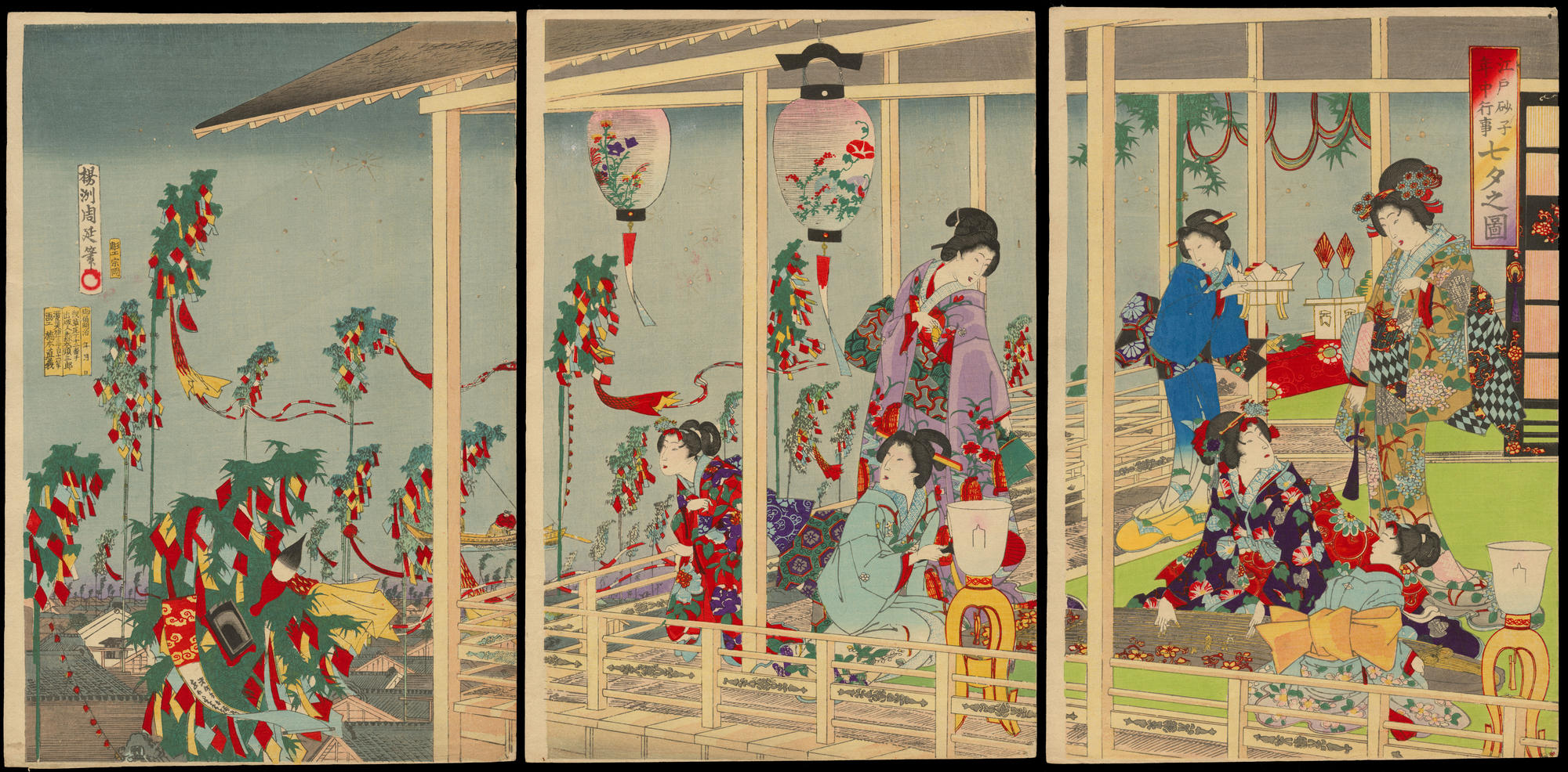 Yoshu Chikanobu Annual Events of Prosperous Edo Tanabata Festival 011384 11 05 2011 11384 X2000 also Glyptodon in addition Paul Dubois Barbedienne Military Courage Bronze 12221647 moreover History Of The Fireplace likewise Earth history c9 triassic. on early modern period