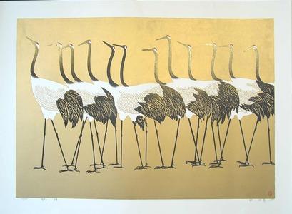 Hao Boyi: Lucky Cranes - Ohmi Gallery