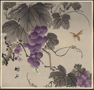 Nagamachi Chikuseki: Grape and Wasp - Ohmi Gallery