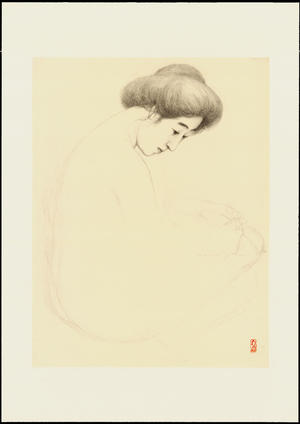 Hashiguchi Goyo: Graphite on Paper Sketch 21 - Ohmi Gallery