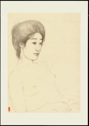 Hashiguchi Goyo: Graphite on Paper Sketch 6 - Ohmi Gallery