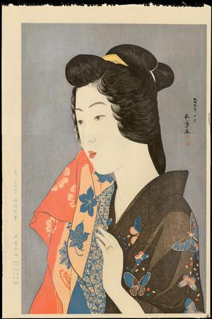 Hashiguchi Goyo: Geisha - 芸妓 - Ohmi Gallery