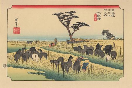 歌川広重: Chiryu - 地鯉鮒 - Ohmi Gallery