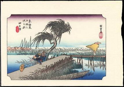 歌川広重: Kambara - Ohmi Gallery