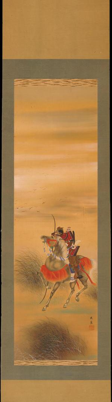 Hosen: Samurai on Horseback (1) - Ohmi Gallery