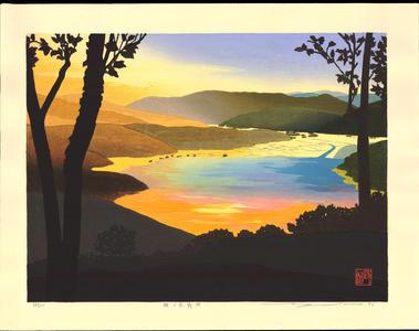 Sano, Seiji: Afterglow At Shizugatake - 賤ヶ岳残照 - Ohmi Gallery