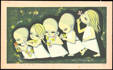 Ikeda Shuzo: Floral Streetcar - 花電車 - Ohmi Gallery