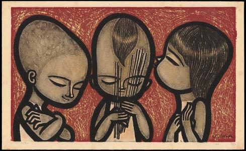 Ikeda Shuzo: Uranai (Fortune Telling) - Ohmi Gallery