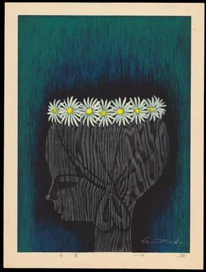 Ikeda Shuzo: White Chrysanthemums - 白菊 - Ohmi Gallery
