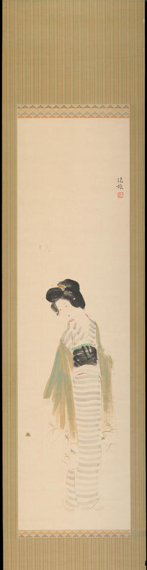 Ito Shinsui: Firefly - 蛍 - Ohmi Gallery