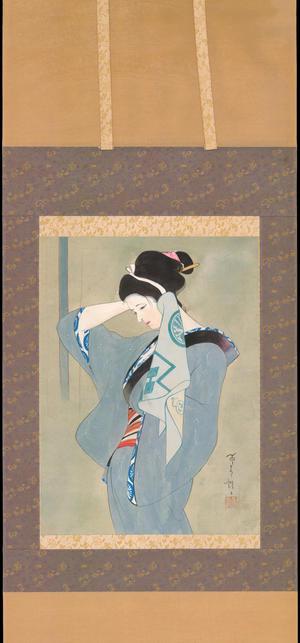 Iwata, Sentaro: After a Bath - 湯上がり (1) - Ohmi Gallery