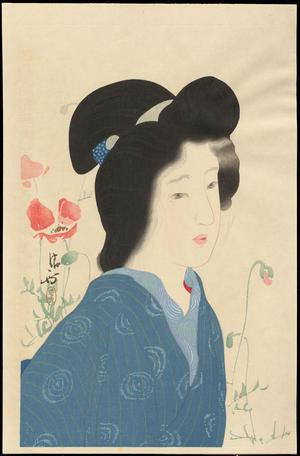 Kaburagi Kiyokata: Poppy Flowers - けしの花 - Ohmi Gallery