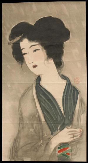 鏑木清方: Sorrow (1) - Ohmi Gallery