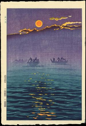 笠松紫浪: Morning Waves - Ohmi Gallery