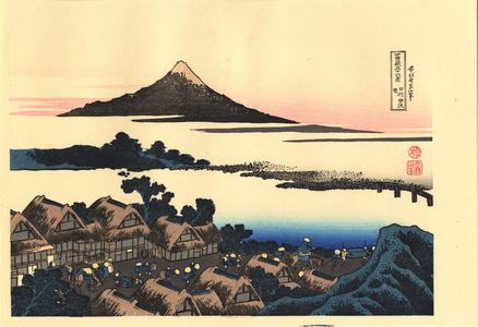 Katsushika Hokusai: Koshu Isawa no Atatsuki - 甲州伊沢暁 - Ohmi Gallery