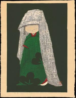 河野薫: Dancing Figure (Snow Camellia) - Ohmi Gallery