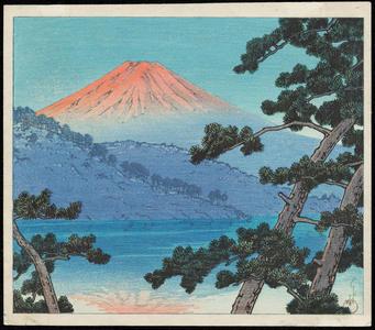 Kawase Hasui: Dawn over Lake Shoji - Ohmi Gallery